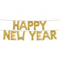 סט בלוני New Year זהב