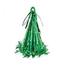 משקולת לבלונים קונוס ירוק