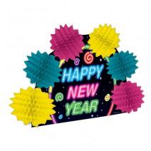 מרכז שולחן New Year צבעוני