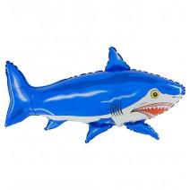 בלון מיילר כריש כחול