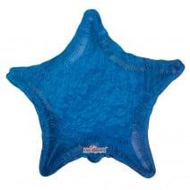 בלון מיילר כוכב כחול הולוגרפי
