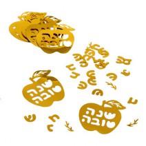 קונפטי שנה טובה תפוח זהב