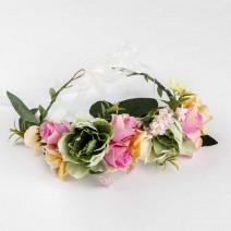זר לראש ורדים מיקס