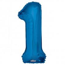 בלון מיילר כחול - מספר 1