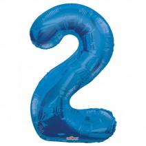 בלון מיילר כחול - מספר 2