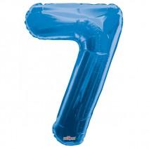 בלון מיילר כחול - מספר 7