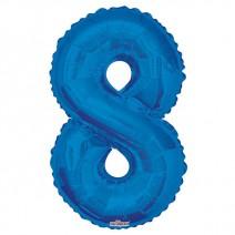 בלון מיילר כחול - מספר 8