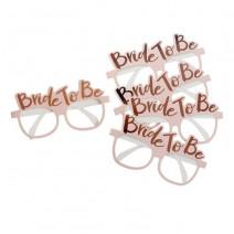 משקפיים Bride to Be ורודות
