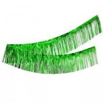 שרשרת פרנזים מטאלית - ירוק