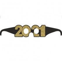 משקפי New Year 2021 זהב