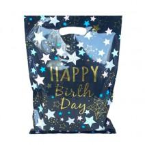 שקיות כוכבים Happy Birthday