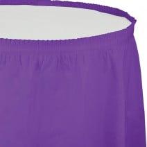 חצאית שולחן - סגול