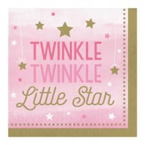 מפיות גדולות כוכב קטן בנות - Twinkle
