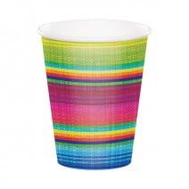 כוסות נייר חגיגה מקסיקנית