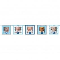 שרשרת תמונות כחולה גיל שנה