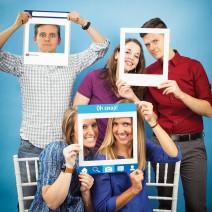 מסגרות לצילום רשתות חברתיות