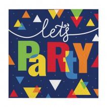 מפיות קטנות Let's Party