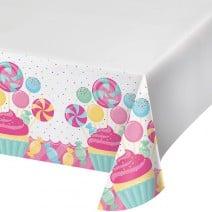 מפת שולחן מסיבת ממתקים