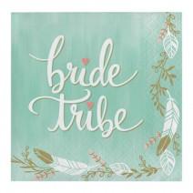 מפיות קטנות Bride Tribe