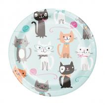 צלחות קטנות חתלתולים