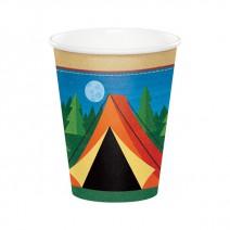כוסות נייר מסיבת קמפינג