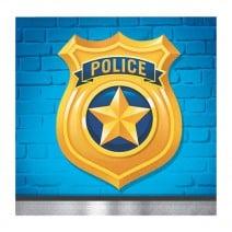 מפיות קטנות מסיבת משטרה