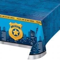 מפת שולחן מסיבת משטרה