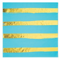 מפיות גדולות פסים ברמודה זהב
