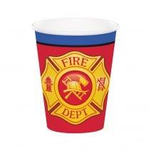 כוסות נייר לוחמי האש