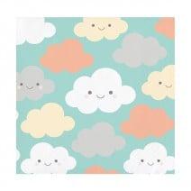 מפיות קטנות עננים וטיפות
