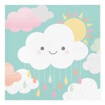מפיות גדולות עננים וטיפות