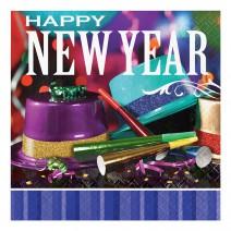 מפיות גדולות Happy New Year