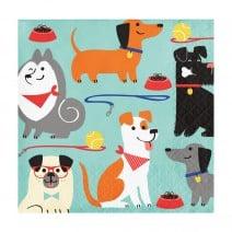 מפיות קטנות מסיבת כלבים