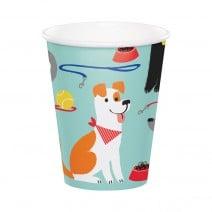 כוסות נייר מסיבת כלבים