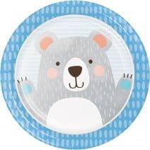 צלחות גדולות דוב הקוטב