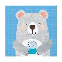 מפיות קטנות דוב הקוטב