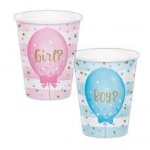 כוסות נייר בן או בת