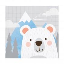 מפיות קטנות דוב קוטב בהרים