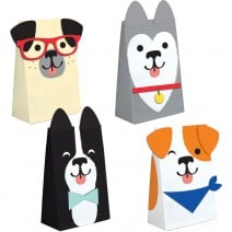 שקיות נייר מסיבת כלבים