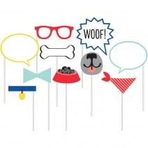 אביזרים לדוכן צילום מסיבת כלבים