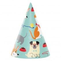 כובעי מסיבה מסיבת כלבים