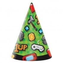 כובעי מסיבה מסיבת גיימינג