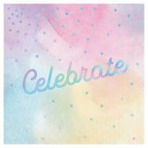 מפיות מסיבה ססגונית Celebrate