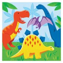 מפיות גדולות מסיבת דינוזאורים
