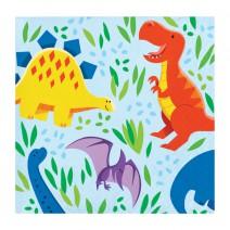 מפיות קטנות מסיבת דינוזאורים