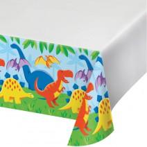מפת שולחן מסיבת דינוזאורים