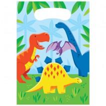שקיות הפתעה מסיבת דינוזאורים