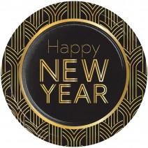 צלחות גדולות New Year 2020