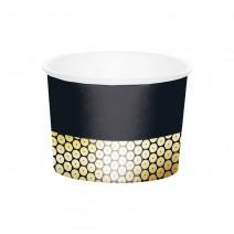 כוסות ממתקים Black & Gold