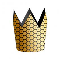 כתרים שחור זהב